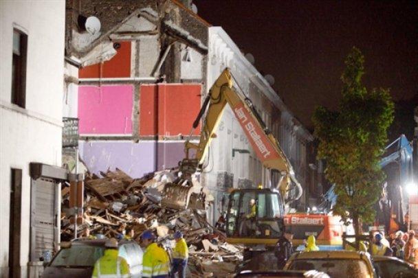 В Брюсселе взорвались три жилых дома