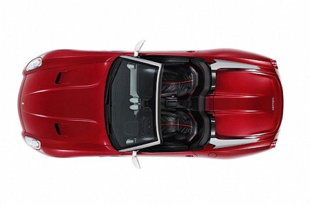 Ferrari представила открытую модификацию суперкара 599 GTB Fiorano
