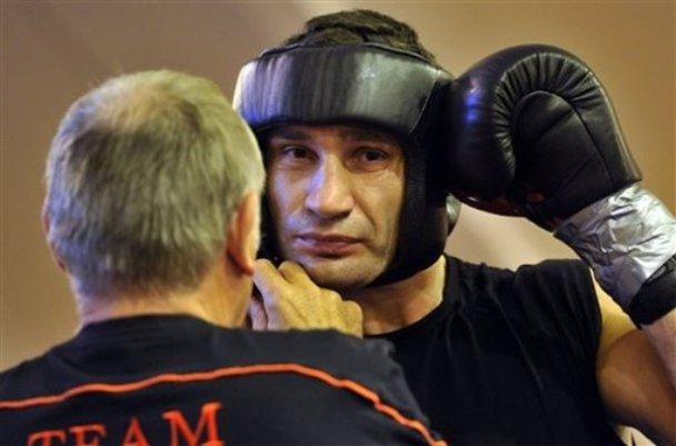 Тренування Віталія Кличка_2