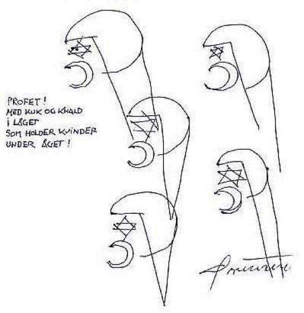 Карикатури на пророка Мухаммеда з Jyllands-Posten_1