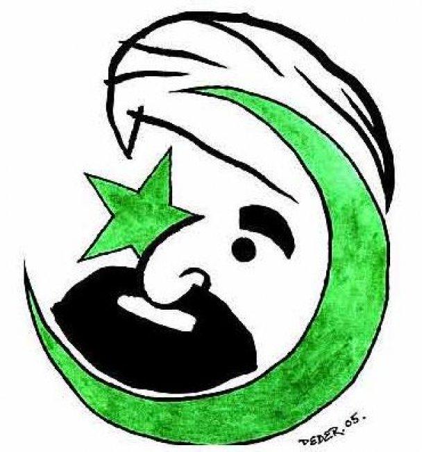 Карикатури на пророка Мухаммеда з Jyllands-Posten_8