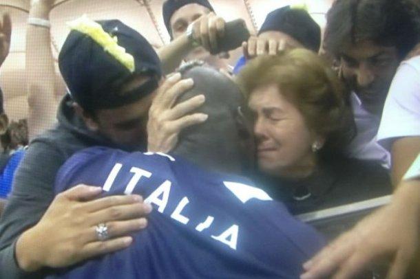 Маріо Балотеллі з мамою