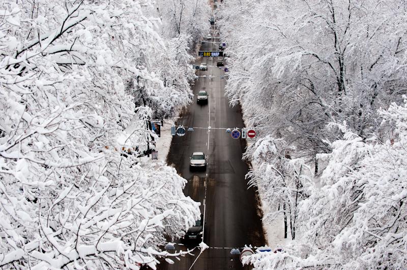 Снег будет лежать вплоть до мая