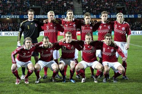 Данія назвала склад на євро 2012