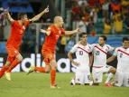 """Нидерланды - Коста-Рика - 4:3. """"Оранжевые"""" оборвали сказку"""