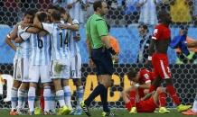 Аргентина выцарапала путевку в 1/4 финала чемпионата мира