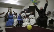 Футбольное безумие в монастыре: монахини неистово болели за Бразилию в четвертьфинале ЧМ-2014