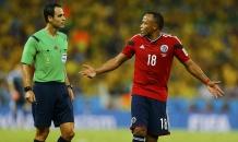 Марадона жестко раскритиковал судью матча Бразилия - Колумбия: он больше не должен работать