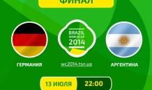 Германия - Аргентина - 1:0. Все о финале чемпионата мира