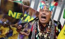 Перуанские шаманы благословили сборную Бразилии и звездных игроков перед ЧМ-2014