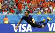 Ван Перси забил супергол в ворота сборной Испании (видео)