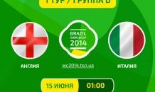 Англия - Италия - 1:2. Все о матче (видео)
