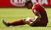 Сборная Португалии потеряла двух футболистов в матче с супернемцами