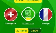 Швейцария - Франция - 2:5. Все о матче (видео)