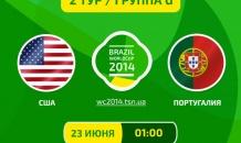 США - Португалия - 2:2. Все о матче