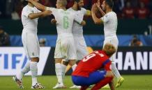 """Алжирские """"лисы"""" разбили """"драконов"""" во втором туре чемпионата мира"""