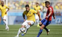 Бразилия - Чили - 4:3. Видео голов и пенальти