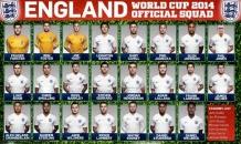 Сборная Англии назвала бойцов на чемпионат мира в Бразилии
