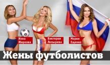 Жены российских футболистов разделись перед чемпионатом мира