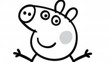 Розмальовка. Свинка Пеппа 3