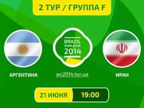 Аргентина - Іран - 1:0. Все про матч