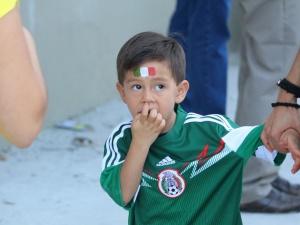 Детки-болельщики чемпионата мира-2014: малыши тоже любят футбол