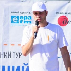 Єгор Гордєєв зустрівся з мешканцями Дніпродзержинська та розповім їм про безпечну міграцію