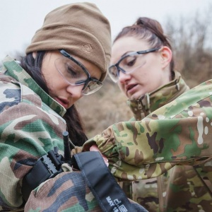 Соломія Вітвицька пройшла курс домедичної допомоги у бою
