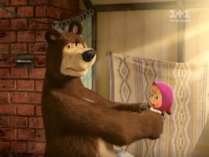Маша і Ведмідь. Перша зустріч