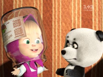 Маша і Ведмідь. Далекий родич
