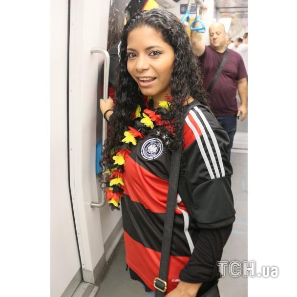 Фанати ЧС-2014. Німеччина проти Франції_1