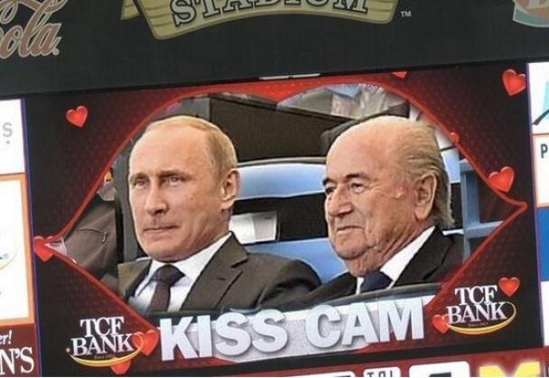Фотожаби. Путін і Блаттер_1