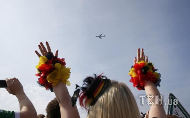 Зустрія збірної Німеччини в Берліні після ЧС_1