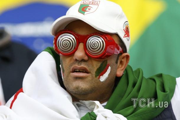 Німеччина - Алжир. Фанати ЧС_1