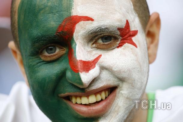 Німеччина - Алжир. Фанати ЧС_3