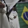 Бразильські черниці дивляться матч Бразилія - Колумбія_6