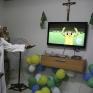 Бразильські черниці дивляться матч Бразилія - Колумбія_10