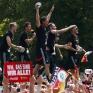 Збірна Німеччини святкує перемогу на ЧС_18