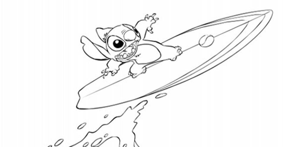 Стіч на серфінгу