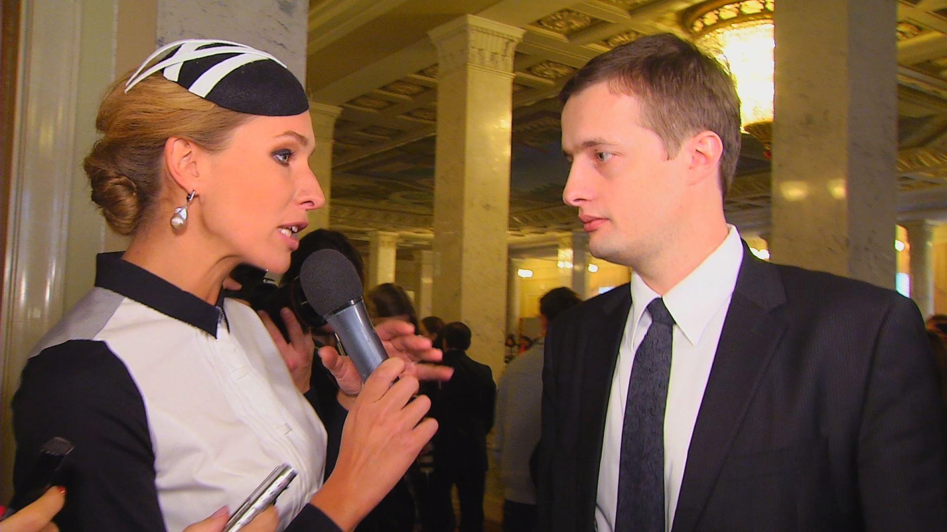 Олексій Порошенко і Катерина Осадча