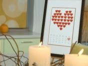 Любовний календар - оригінальні подарунки до Дня закоханих!