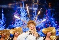 """Оля Полякова на Карнавалі """"Світського життя"""" підпалила кокошник та заповнила електронну декларацію"""