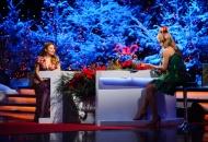 Тіна Кароль привітала Катерину Осадчу з вагітністю в ефірі