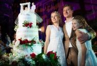 Весілля Юрія Нікітіна та Ольги Горбачової