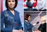 Алла Мазур допитала VIP-гостей в Музеї новин