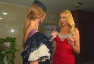 Спробувавши себе в ролі Катерини Осадчої, Оля Полякова прокоментувала, чим вона від неї відрізняється