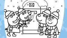 Пеппа, Джордж і друзі відправляють лист Санті
