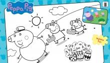 Свинка Пеппа з родиною святкує Великдень