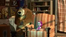 Збирай загублені предмети разом з Машою та Ведмедем!
