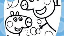 Свинка Пеппа, Джордж та мильні бульбашки
